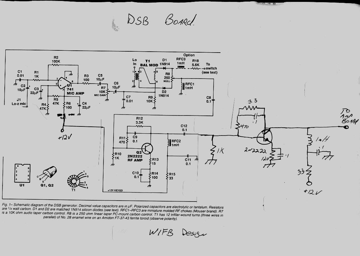 Schematic Of Dsb Board C11 Pc Wiring Diagram On The Instead One Also I Didnt Have Right Value Pot So Just Put An Appropriate Resistor In Parallel With That Had